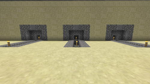 Finished bellmouths with walls.